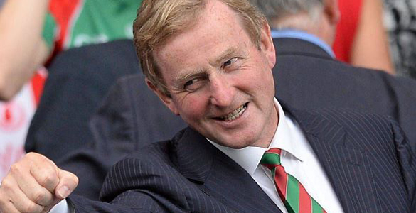 Taoiseach Enda Kenny is hoping his home county of Mayo will end a 60-year All Ireland drought this weekend.