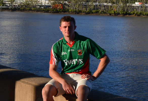 Brisbane Lions star Pearce Hanley was hurting for Mayo after their All-Ireland final loss to Dublin.