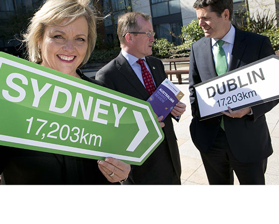 MINISTER PASCHAL DONOHOE AND TOURISM IRELAND UNVEIL NEW STRATEGY