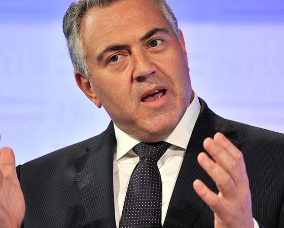 Australian Treasurer Joe Hockey