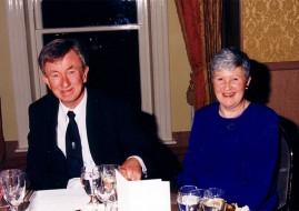 Aisling Society members Professor Patrick O'Farrell
