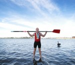 Kevin Wall on Perth's Swan river