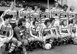 3 July 1973; The Shamrock Rovers Ireland XI team.