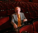 Brian Friel pictured at The Gaiety theatre in Dublin in 2009.