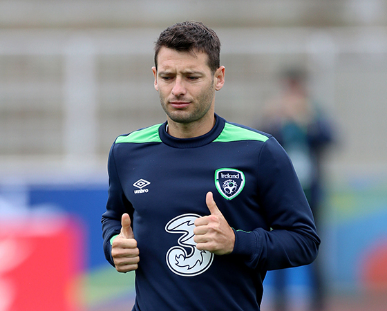 Wes Hoolahan scored Ireland's only goal of Euro 2016 so far.